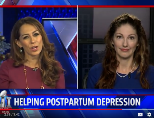 "TV News Clip: The ""Bringing Postpartum Depression Out of the Shadows Act"" Passes the House"