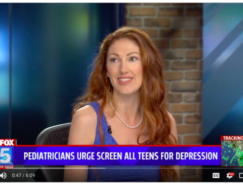 All Teens Should Be Screened for Depression [TV News Clip]