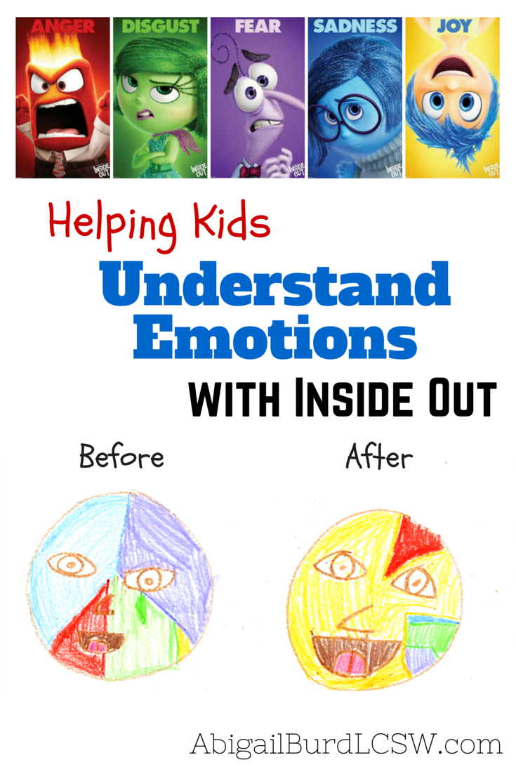 Helping Kids Understand Emotions with Inside Out