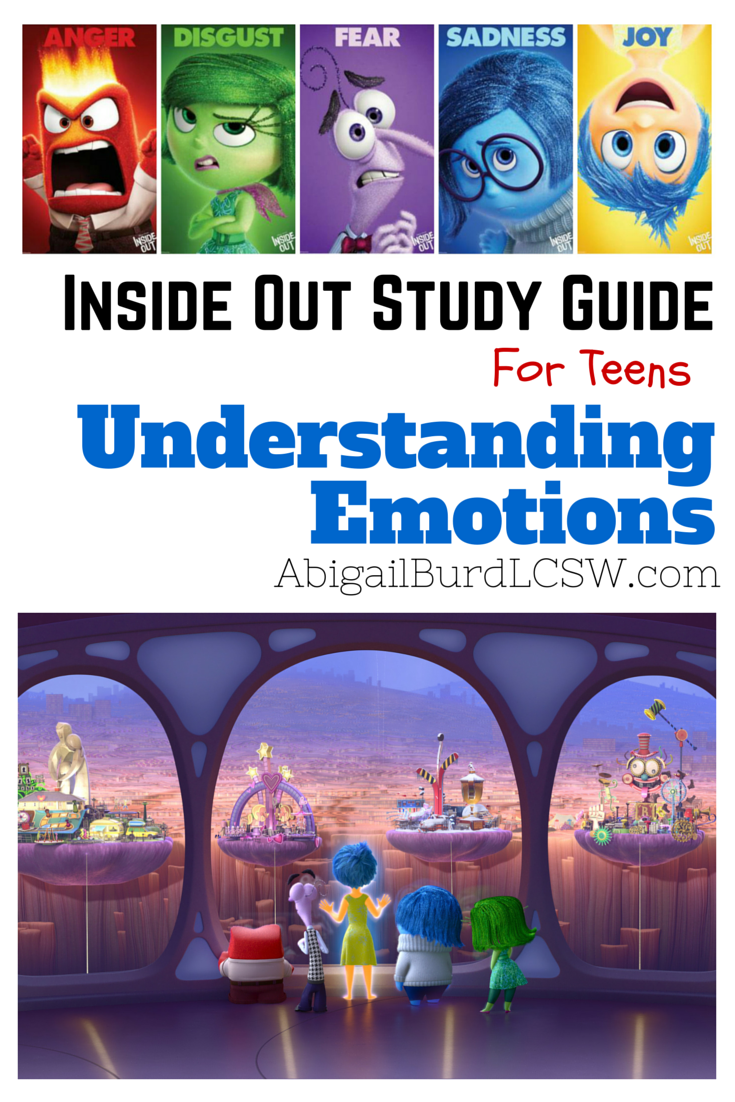 Inside Out Study Guide for Teens: Understanding Emotions