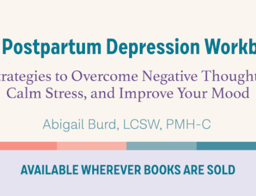 Giveaway and First Reviews: The Postpartum Depression Workbook